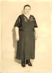 Eva Douse (1938 Daughter Margaret's 8th Grade Grad)