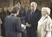 Edwards and Lila's 1983 wedding