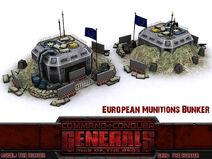 EU Munition Bunker lockdown