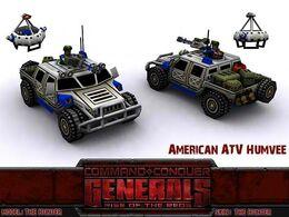 American ATVHumvee