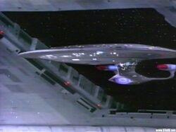 USS Enterprise-D Spacedock