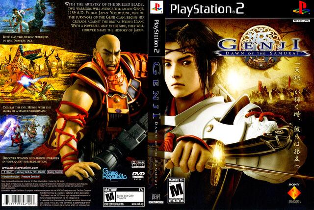 File:Genji Dawn Of The Samurai COVER.jpg