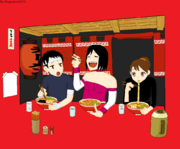 Kenji, Yumi and Anna