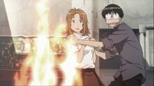 Genshiken-madarame-saves-saki