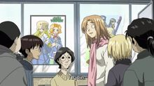 Genshiken-saki-reluctantly-joins