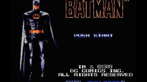Batman (NES) Music - Stage 1