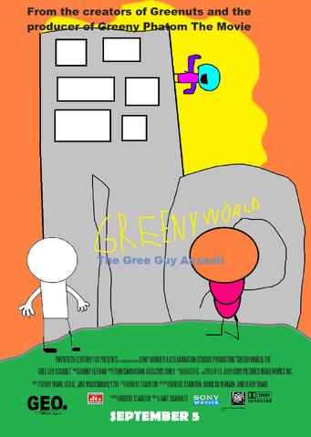 File:GreenyWorld poster.png