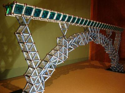 3 x 1 arch bridge.