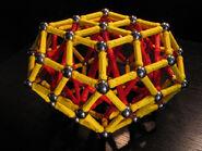 Bi elongated rhombic triacontahedron c