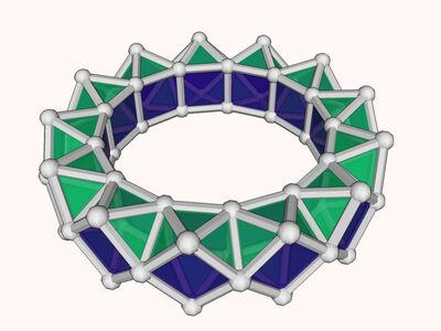 13-gon ring model
