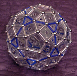 Augmented Truncated Dodecahedron T2T V2R