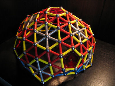 Snub exp truncated icosahedron dome