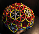 Snub Expanded Truncated Icosahedron Dome