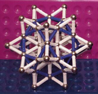 Stellated Rhombic Triacontahedron - R