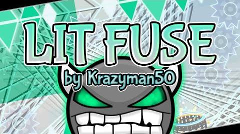 """Lit Fuse (Demon) by Krazyman50 — """"Geometry Dash 2"""