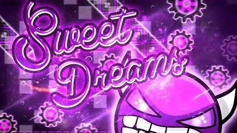 Geometry Dash - Sweet Dreams -DEMON- - By- TrueAspiral (On Stream)