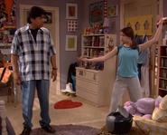 Carmen teaches dad George wedding dance
