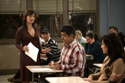 Ep 5x13 - George disrupts class