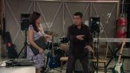 Ep 6x13 - George shows Angie the new garage sound studio