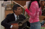 Ep 6x2 - George playing his old guitar