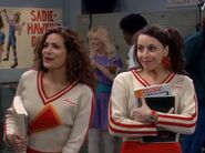 GL ep 2x14 - Angie in high school with friend Carla