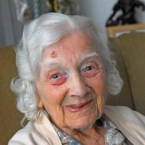 At the age of 105