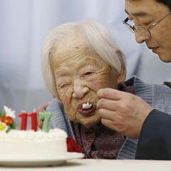 Misao Okawa at age 117