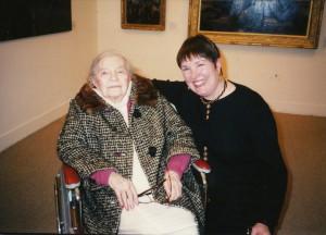 File:Theresa Bernstein-Meyerowitz and Patricia Burnham in 1995.jpg