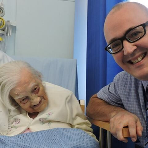 In October 2015, after becoming the oldest person in the world to undergo a hip operation