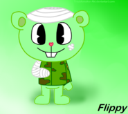Flippy s early design by troublemaker aki-d7fst2e