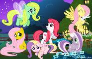 Fluttershy relations by aquaticneon-d5dc9tp