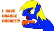 Orange hooves for bronydanceparty by retroshock27-d55rkyp