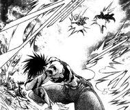 Shido takes down Kanou and Kaoru