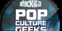 Pop Culture Geeks Unite! (Sticker)