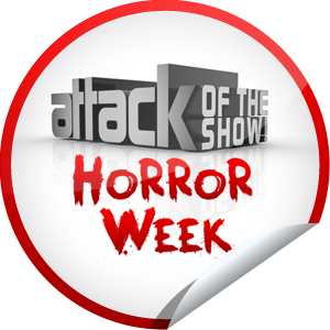 Attack of the Show Horror Week Sticker
