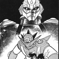Uzahra and Getter Robo G