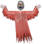 Skull Ghost (red)