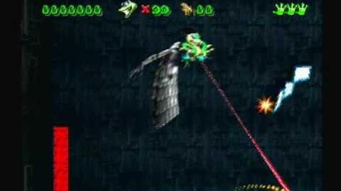 Gex Rez final boss battle and gexs theme