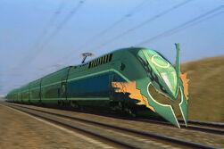 Mega Rayquaza Train