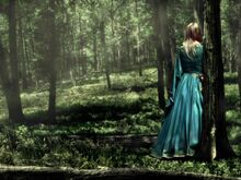 Girl alone in forest-1024x768