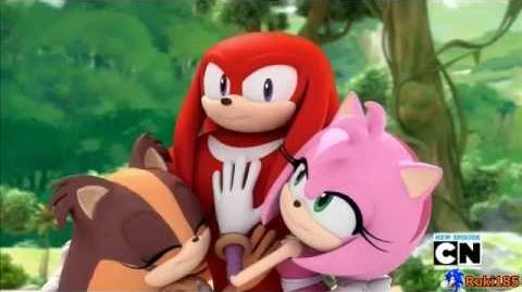Sonic Boom Knuckles jump glitch is canon - Bewm