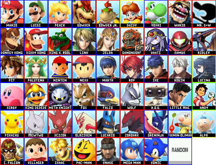 I Direct the Final 3DS Roster (DLC 1)
