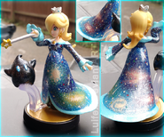 Rosalina amiibo recoloured galaxy by luifex-d8iwva2