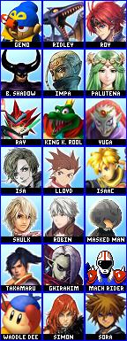 Playstation All-Stars Roster