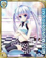 Miss Monochrome Stock (SR+) Card