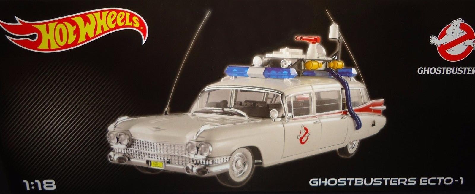 Hot Wheels 1 18 Scale Ecto 1 Ghostbusters Wiki Fandom