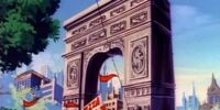Washington Square Arch/Animated