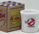 Ghostbusters Milk Glass Products by Fire-King