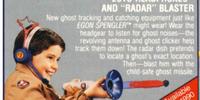 "Toy Weapon: Ecto-Headphones with ""Radar"" Blaster"