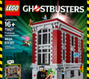 Lego Ghostbusters: Firehouse Headquarters Playset